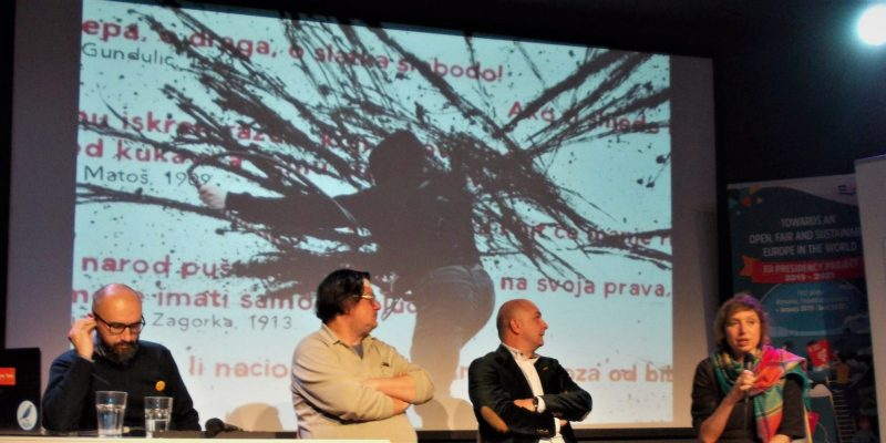 """The panel """"Can Citizens Overthrow Illiberal Regimes?"""" held in Zagreb"""