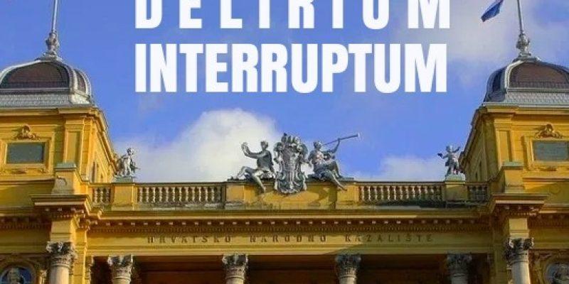 Delirium interruptum – performance by Domino Association