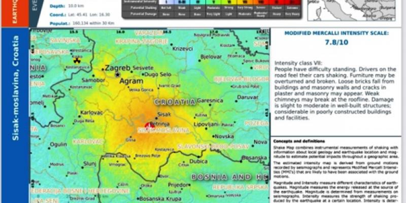 EU Civil Protection Mechanism – post-earthquake relief