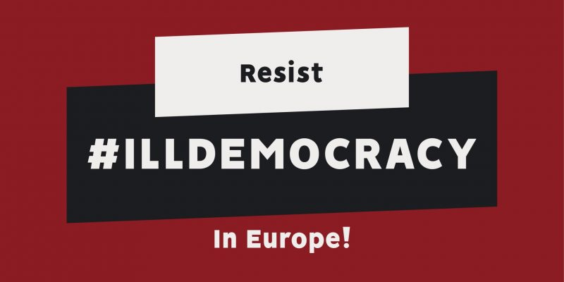 Pan-European campaign: More Democracy for More Europe