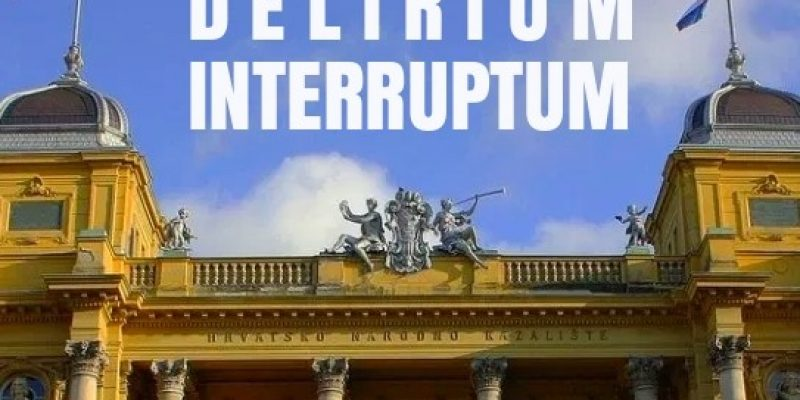 Delirium interruptum – performance by Domino Association