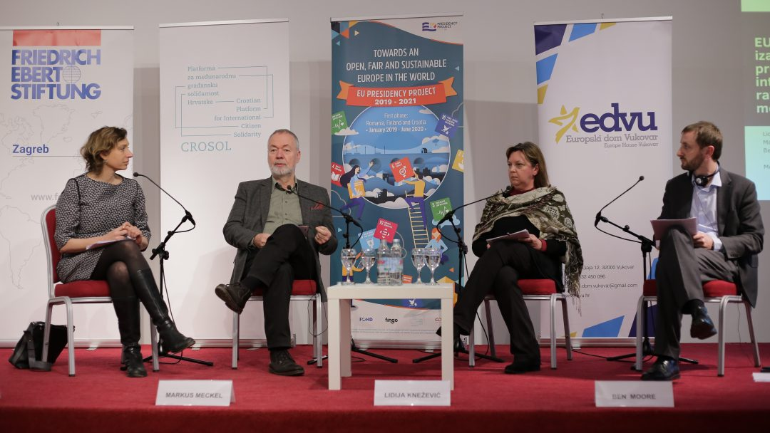 Photo gallery: EU as a Forgotten Peace Project, Vukovar, 14th-15th January 2020
