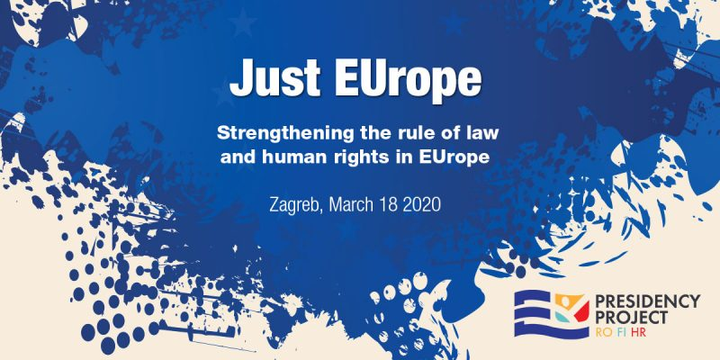 Just EUrope – international conference on the rule of law and human rights in Europe
